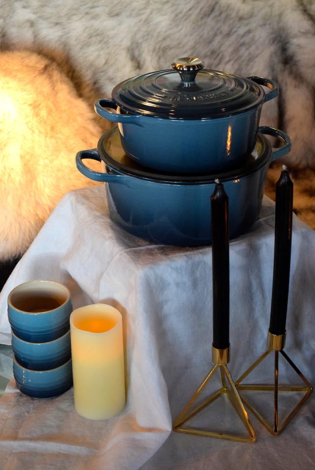 Le Creuset New Marine Collection | www.rachelphipps.com @rachelphipps