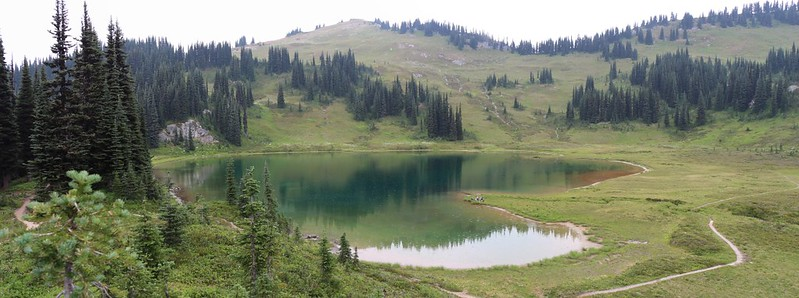Image Lake - it looks rather heart-shaped from this angle
