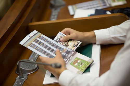 15.09.17 Vizitatori ai Zilei Democrației la Parlamentul Republicii Moldova