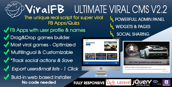 ViralFB v2.0 – The ultimate SUPER VIRAL Quiz