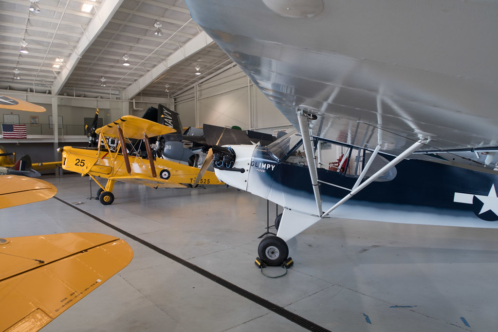 Airplanes at the Virginia Military Aviation Museum