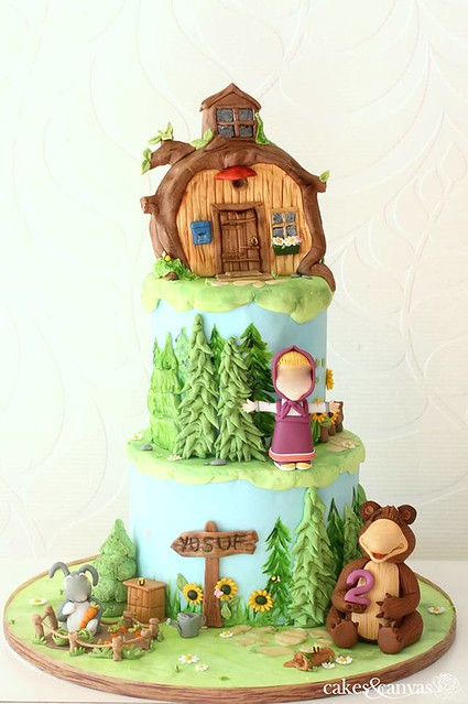 Cake by Cupcake D'lights Cakes and Canvas