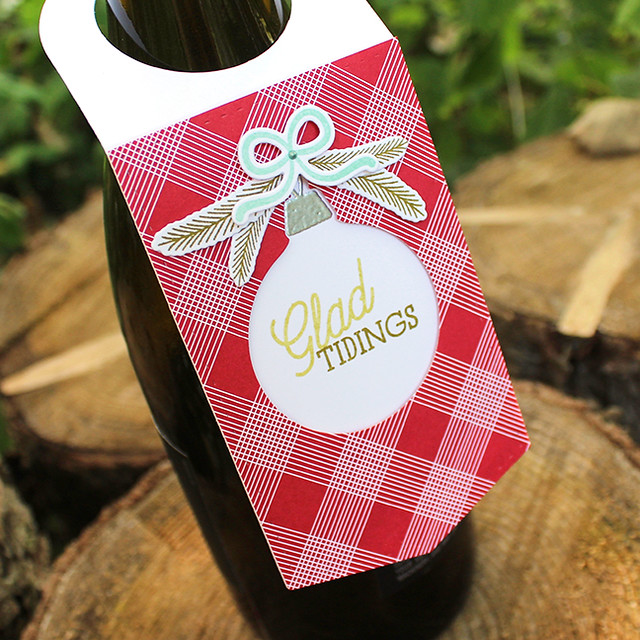Glad Tidings Wine Bottle Tag 3
