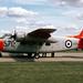 Percival P.57 Sea Prince T1 G-BRFC (WP321) Alconbury 14-8-82