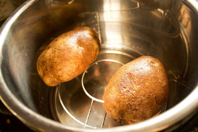 "Instant Pot ""Baked"" Potatoes"