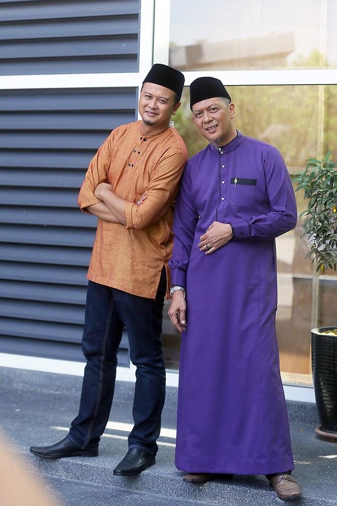 Syamsul Debat dan Syasul Ghau Ghau dalam rancangan Duo Syamsul