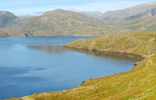 Day 8: Kangerluarsuk Tulleq fjord from Qerrortusup Majoriaa highlands