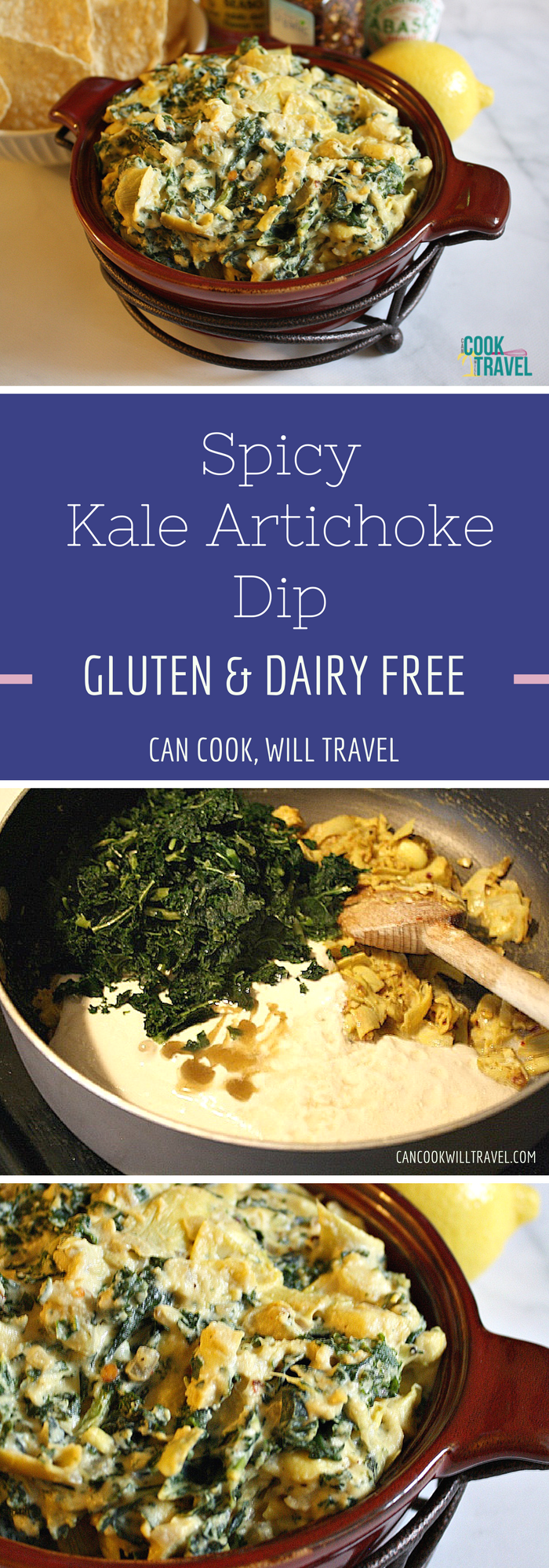 Spicy Kale Artichoke Dip_Collage2