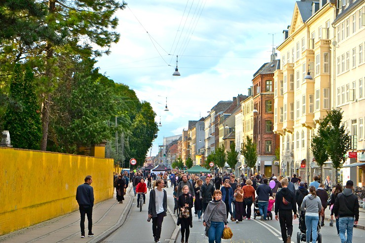 Car Free Day Nørrebrogade, Copenhagen September 17th 2017