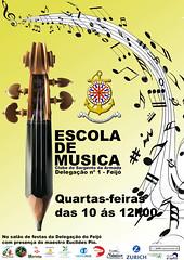 Cartaz Escola de Musica 1
