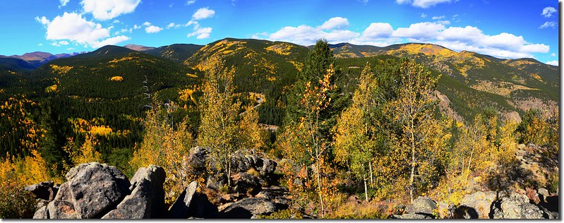 Fall colors, Mount Evans Scenic Byway, Colorado (2)