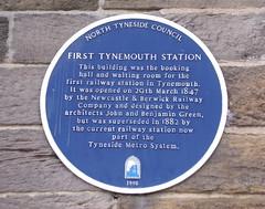 Photo of John Green and Benjamin Green blue plaque