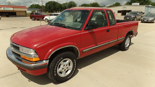 1998 Chevy S-10 EXT Cab