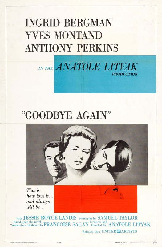 Goodbye Again - Poster 1