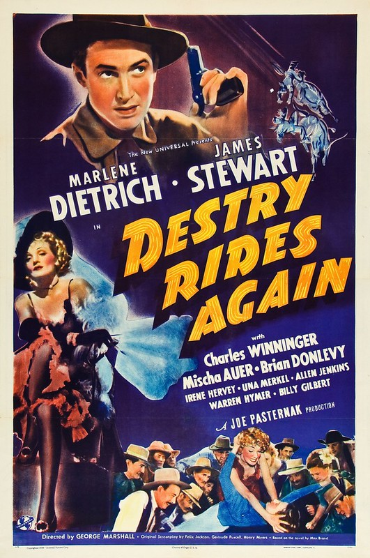 Destry Rides Again - Poster 1