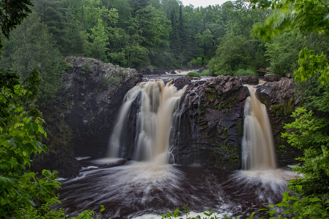 Little Manitou Falls Wisconsin