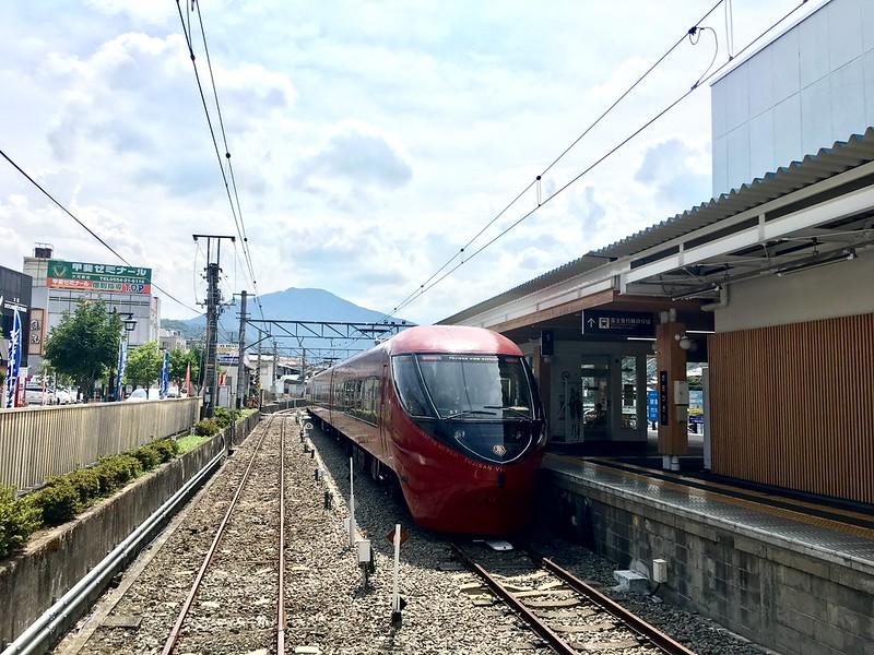 河口湖富士山觀光特急火車