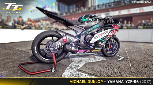 TT Isle of Man the Game - Michael Dunlop 2