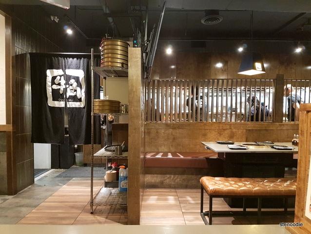 Gyu-Kaku Japanese BBQ Toronto interior