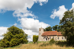 The church that featured in the Detectorists