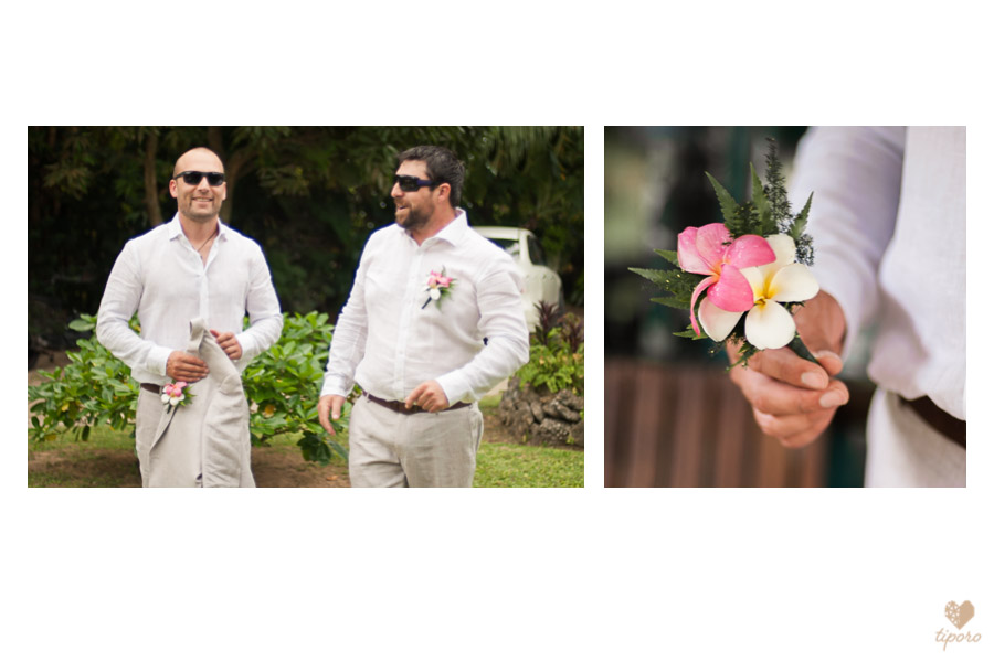 tropical wedding invitiationei katu, head garland, tropical, Rarotonga, wedding bandsdocumentary, bridal preptropical wedding gown, bridal portrait, Nautilus Resortwedding attendants, flower girl, page boy, island weddingKuras Kabanas Rarotongagroom prep, grey linen suit