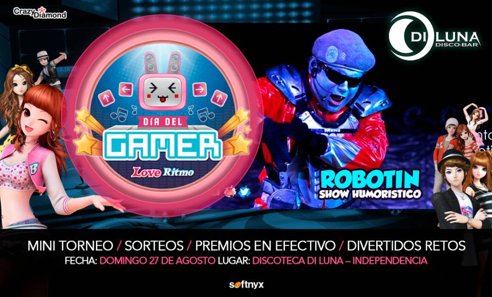 Día del Gamer: Softnyx te invita a la gran fiesta para la celebraciónDía del Gamer: Softnyx te invita a la gran fiesta para la celebración
