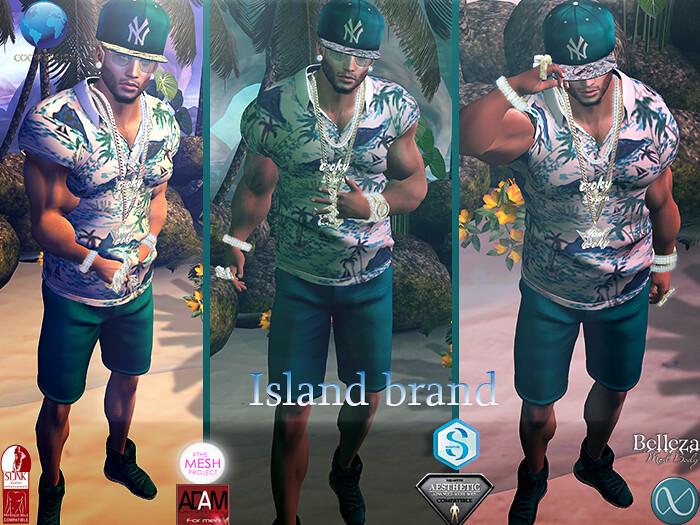 Island brand ad - SecondLifeHub.com