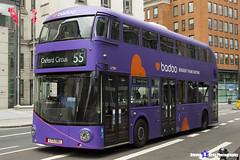 Wrightbus NRM NBFL - LTZ 1383 - LT383 - Badoo - Oxford Circus 55 - Stagecoach London - London 2017 - Steven Gray - IMG_1229