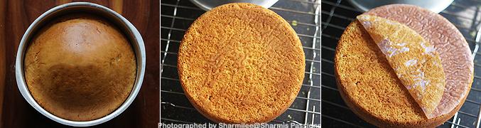 How to make Eggless vanilla cake recipe - Step4