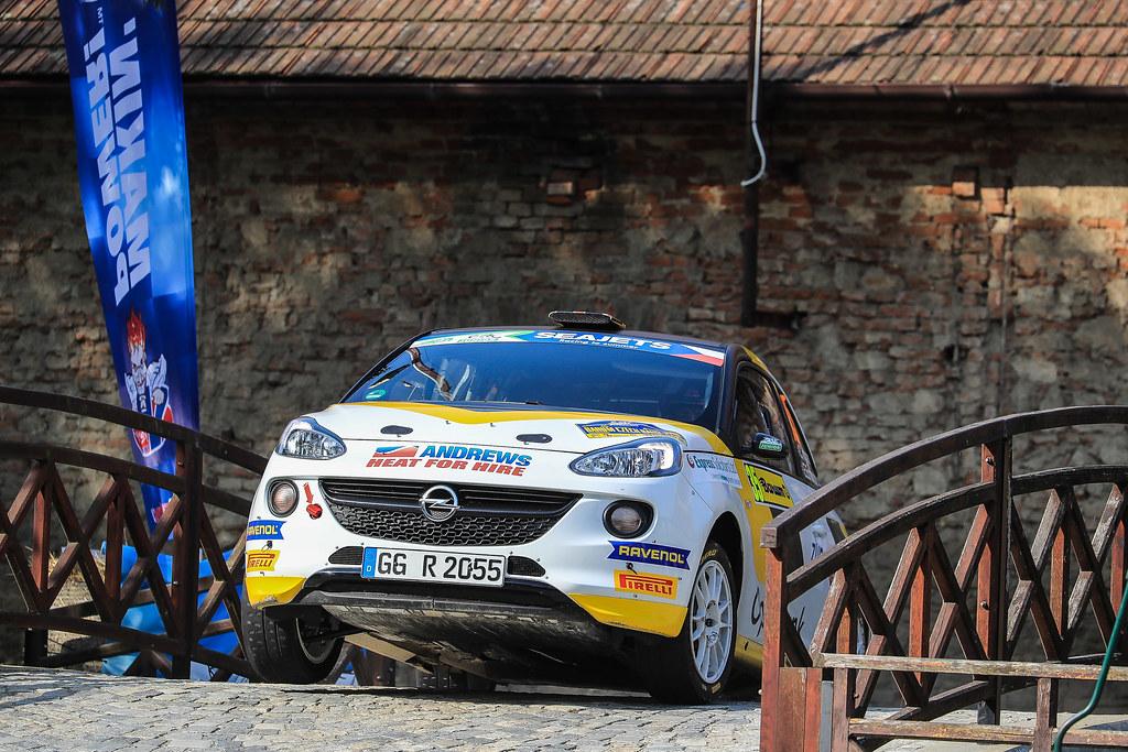 35 INGRAM Chris (GBR) ELLIOTT Edmondson (GBR) Opel Adam R2 action during the 2017 European Rally Championship ERC Barum rally,  from August 25 to 27, at Zlin, Czech Republic - Photo Jorge Cunha / DPPI