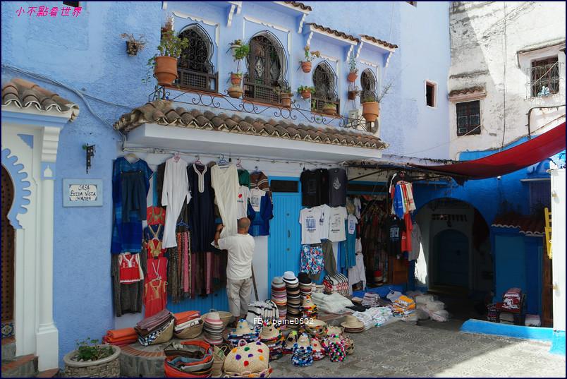 摩洛哥藍色小鎮 舍夫沙萬Chefchaouen