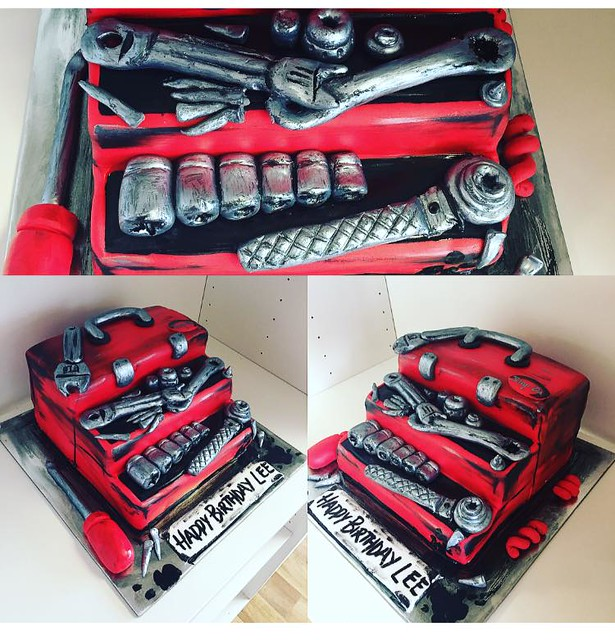 Tool Box Cake from Cakes by Gemma