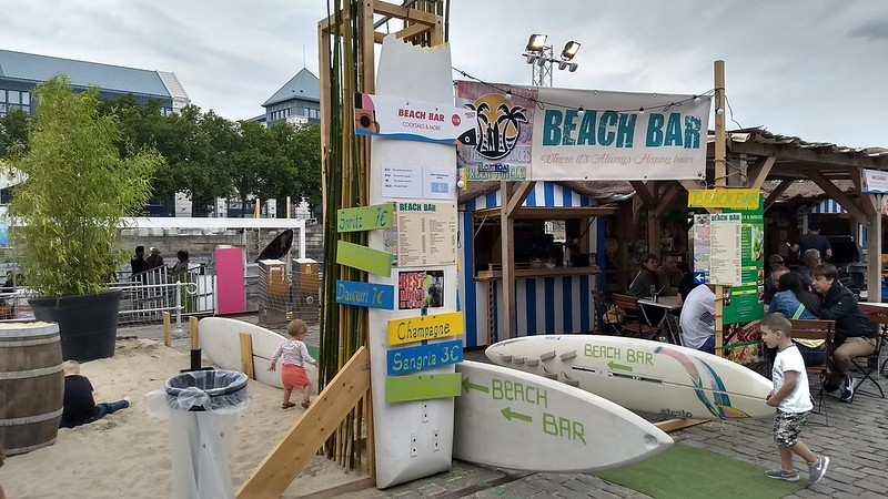 Brussels Beach event, July 2017
