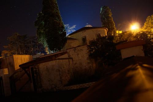 Nuit sur l'Eglise d'Estilliac