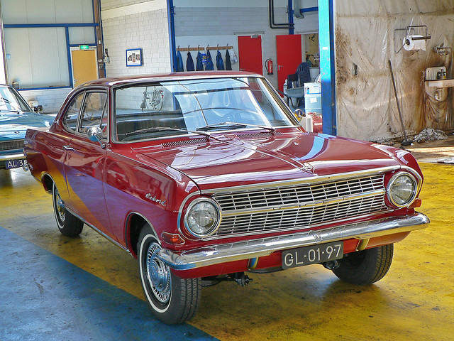 Opel (Olympia) Rekord A Coupe 6 1964* (1000672)