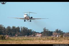LV-WGN SAZM-MDQ MD-83 Andes realizando toque y motor por 31, Entrenamiento de tripulación