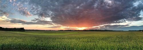 Sunset Over Wheeler