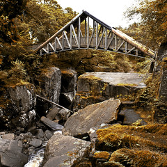 Bridge at Bracklin Falls