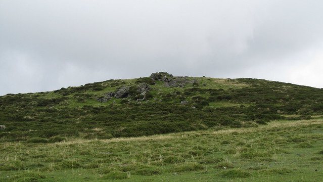 Southern most outcrop of Sourton Tors