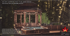 Trompe Loeil - Kelby Copper Hot Tub & Deck for Collabor88 August