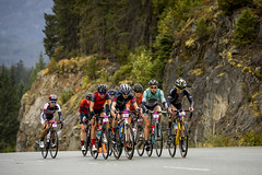 Participants race in the RBC GranFondo