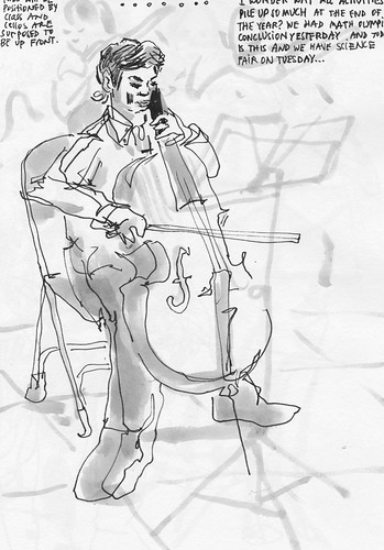 Sketchbook #105: Cello_301