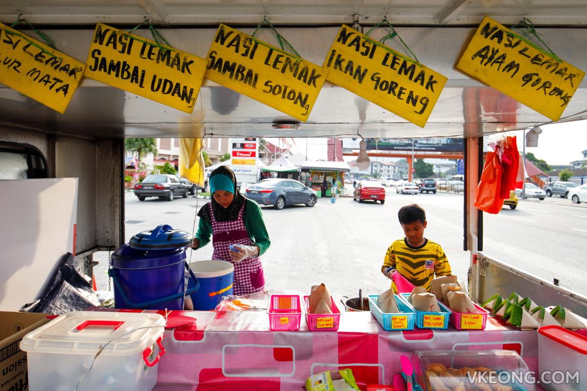 Nasi Lemak Food Truck Kepong