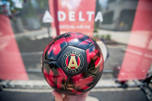 Delta, Atlanta United paint the town