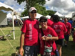 Hawaiian Electric at American Heart Association's Heart & Stroke Walk - August 12, 2017: Arlis L. and husband