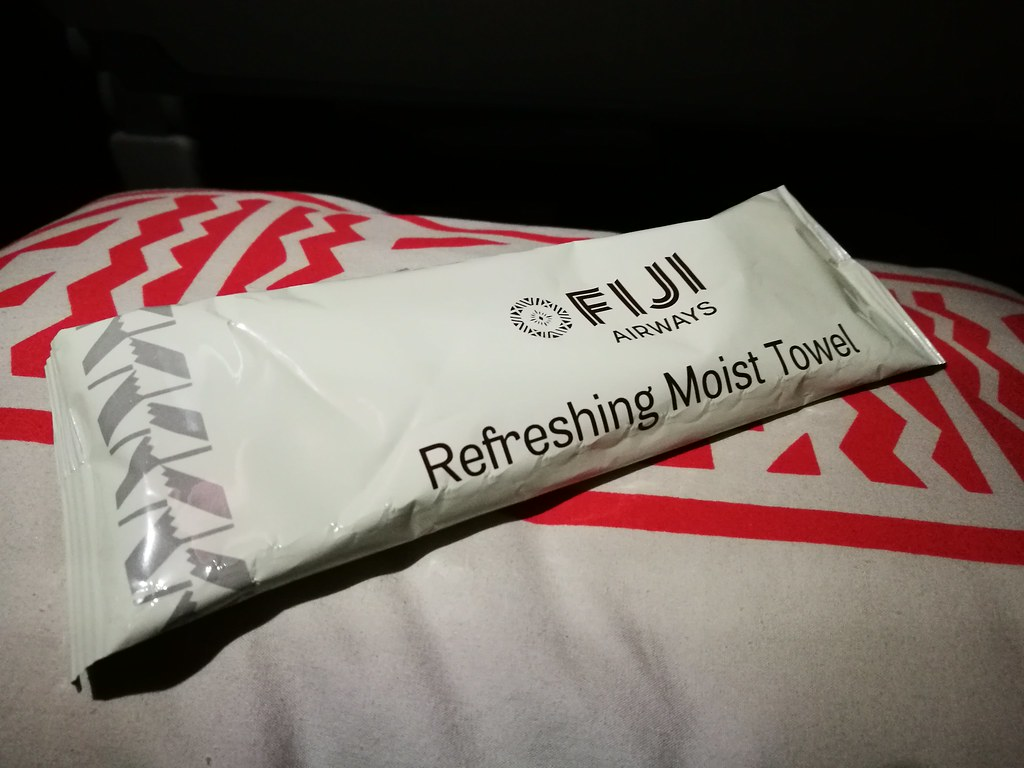 Refreshing moist towel