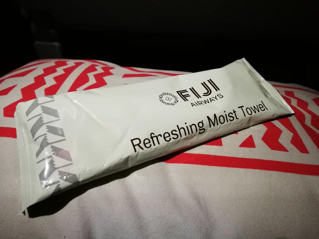 Refreshing moist towel
