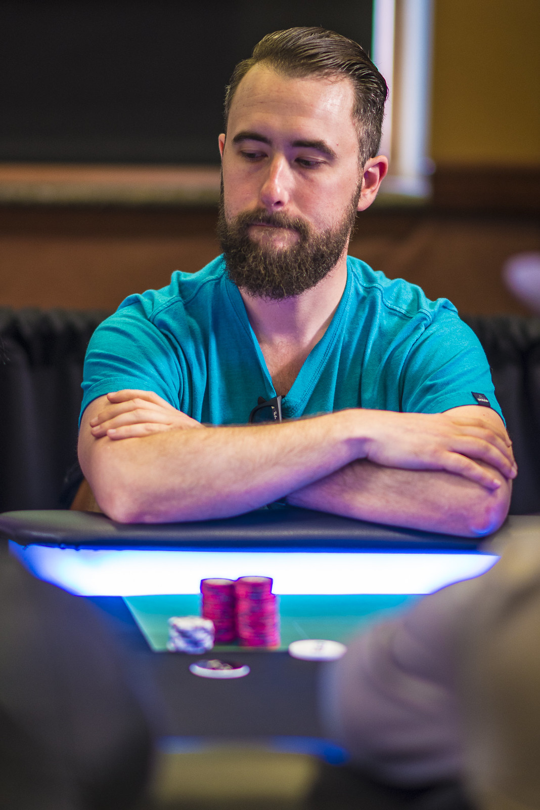 Matt Bond Eliminated in 9th Place