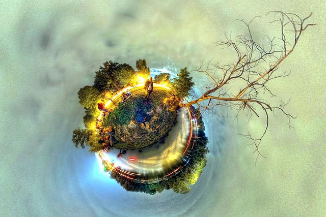 Lichterserenade @ Danube planet