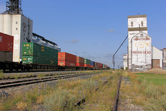 Indian Head Rail Yards - Passing Freight